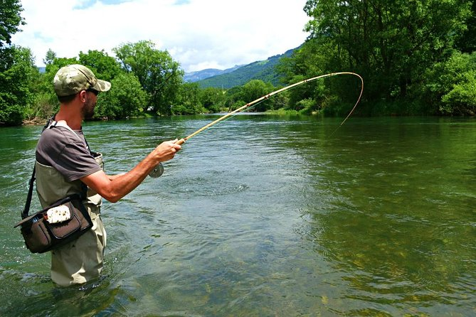 Fishing on rivers, lakes and sea in Montenegro Image