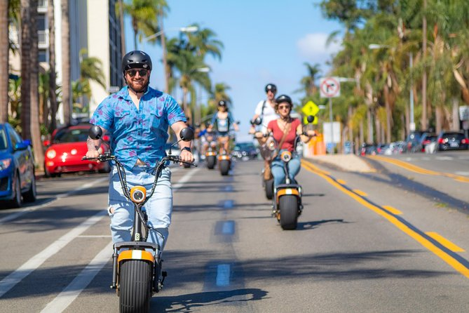 2Hr GPS Guided Scooter Tour: Downtown & Balboa Park