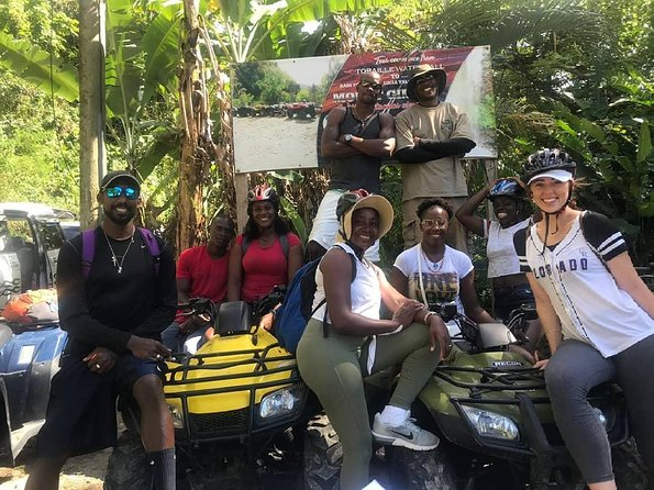 An Atv Tour To The Rainforest And St.lucia Tallest Mountain , Mount Gimmie