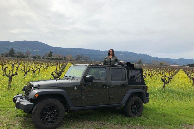 Hidden Napa Jeep Wine Tour - Napa Valley
