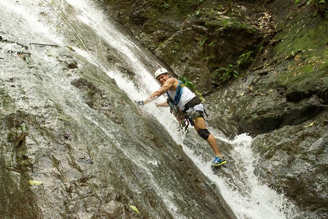 Waterfall Climbing Tour From Jacó