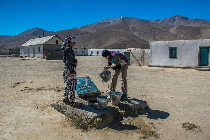 Dushanbe to Osh on Pamir Highway