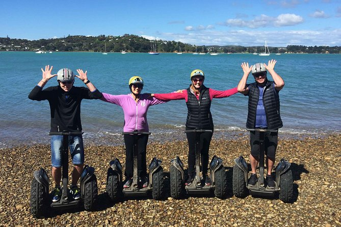 Off-road Segway Tour at the Bay and Beach