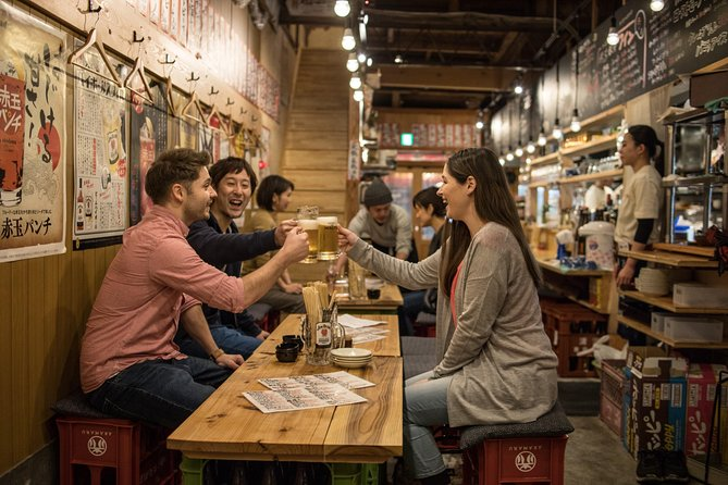 Hiroshima ・Night Food Tour Visiting Recommended Bars by Locals & Cycling
