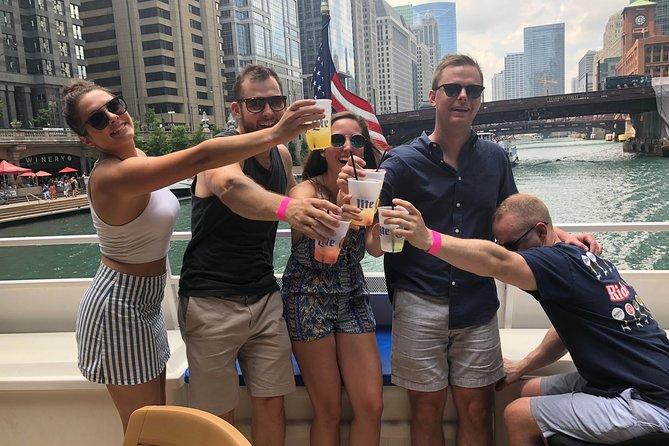 Chicago River Floating Tiki Bar Cruise