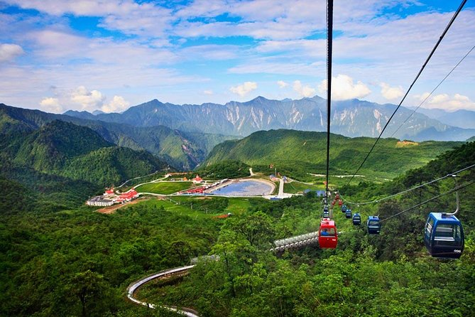 Shaolin Temple and Sanhuang Village Scenic with Cable Car Experience from Zhengzhou photo 3