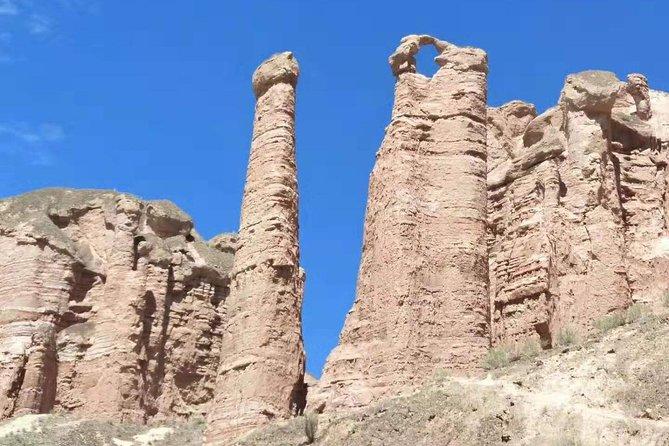 Private Hiking Tour: Binggou Danxia and Zhangye Danxia Geopark from Zhangye