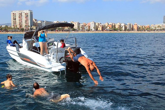 Costa Brava Motorboat Tour including Water Sports