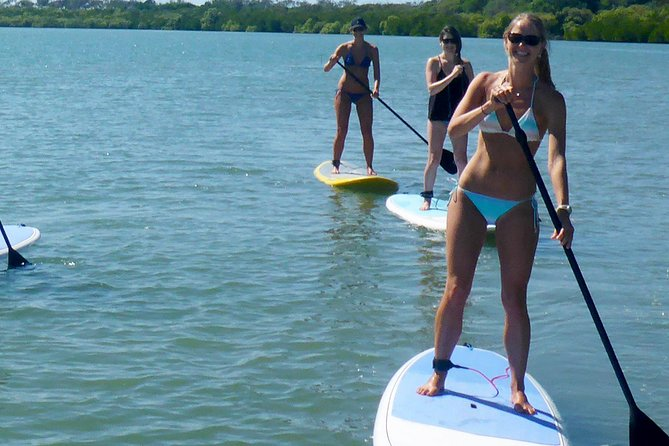 Stand Up Paddle Double Island Lesson photo 2