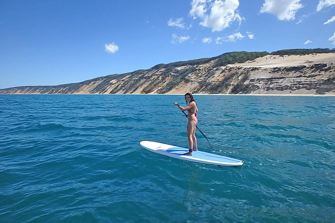 Stand Up Paddle Double Island Lesson photo 12