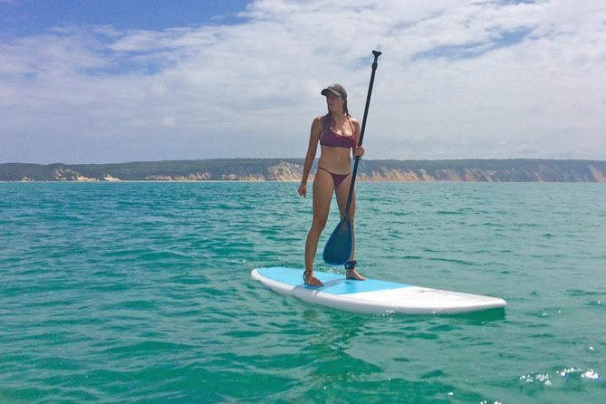 Stand Up Paddle Double Island Lesson photo 10