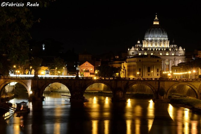 Rome by Night: 3-Hour private tour with driver