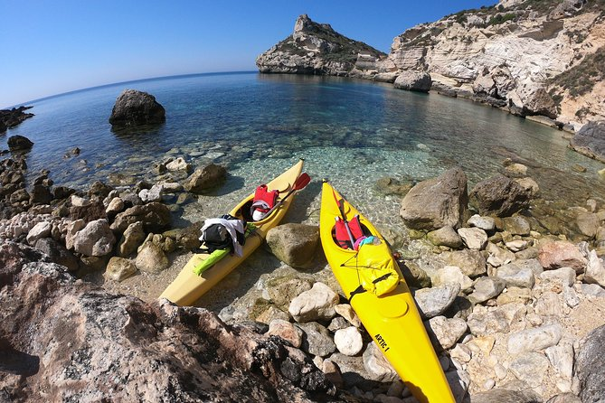 Kayak Tour at Devil's Saddle in Cagliari