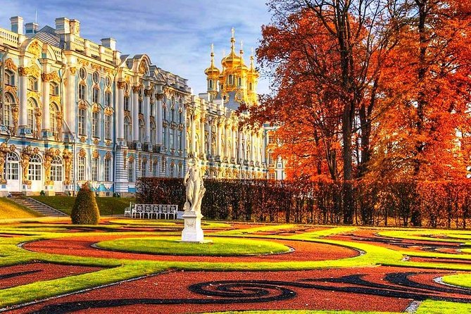 1-Day VISA FREE Private Shore Tour. Best of St-Petersburg Imperial Suburbs.