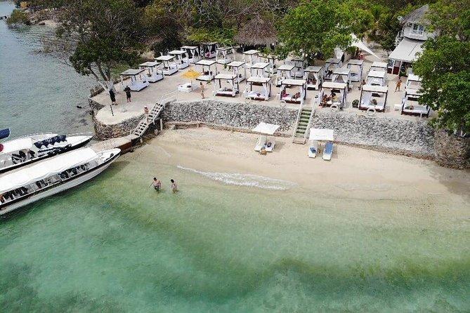 Full day Bora Bora Beach Club - Islas del Rosario