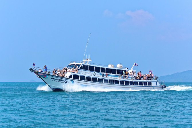 Day Tour from Phuket to Islands around Krabi by Ferry and Speed Boat