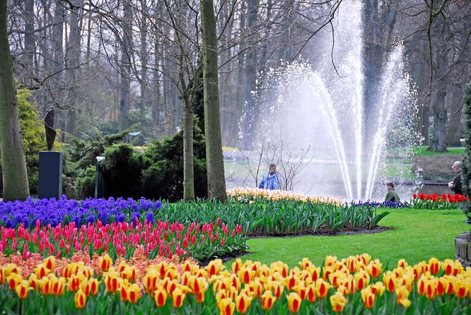 Keukenhof and Zaanse Schans Tour with Canal Cruise