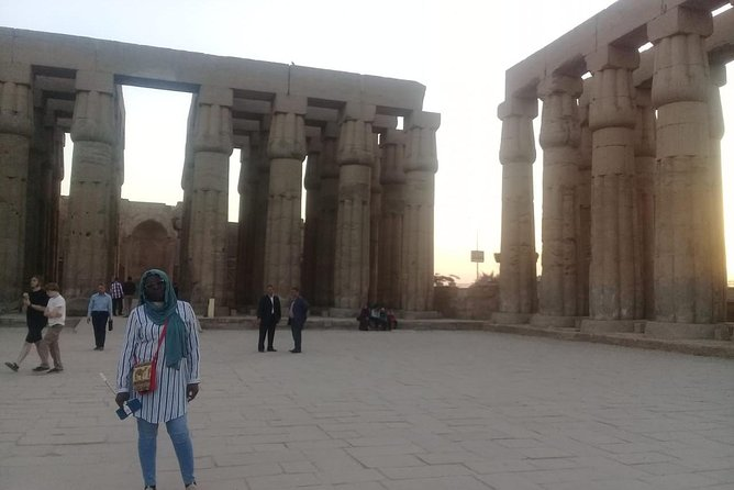Full Day Luxor Highlights West and East Banks with Small Group