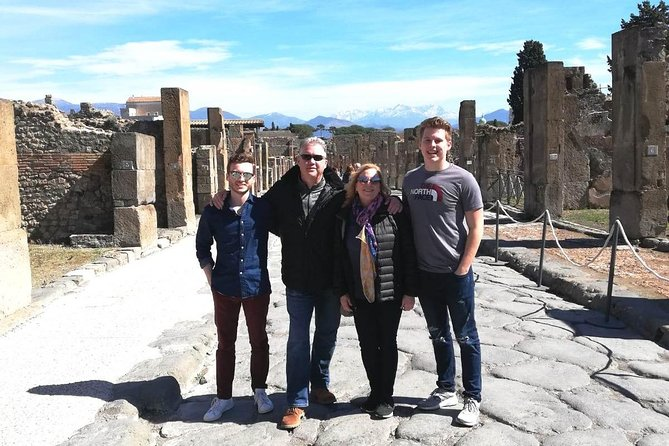 Pompeii & Herculaneum Trip from Rome with Hotel Pick Up & Skip-the-Line Tickets