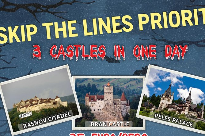 3 CASTLES Daytrip from Brasov photo 1