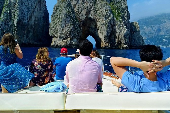 Premium Capri båttur från Sorrento Max 7 personer