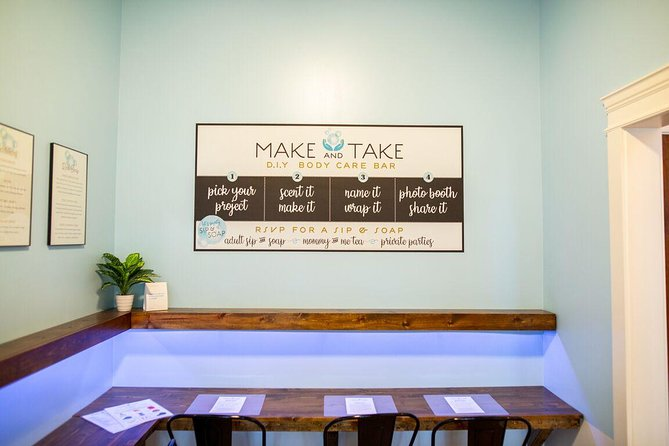 Create Your Own Scent on our Make & Take Bar