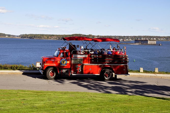 Private Narrated Portland Sightseeing Tour Aboard Vintage Fire Engine photo 8