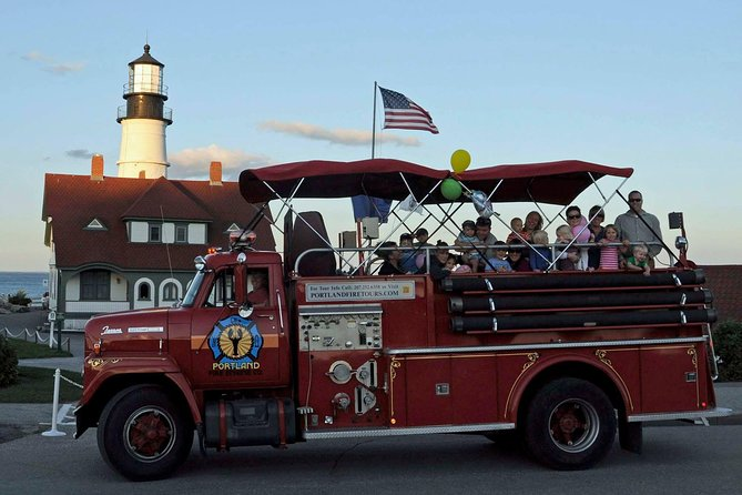 Private Narrated Portland Sightseeing Tour Aboard Vintage Fire Engine photo 7