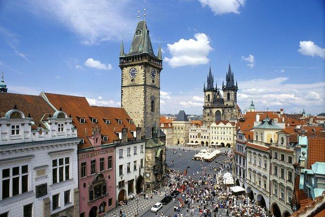 Prague castle in details