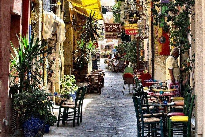 Chania: Old Town, Public Market, Hill of Prophet Elias, Agia Triada