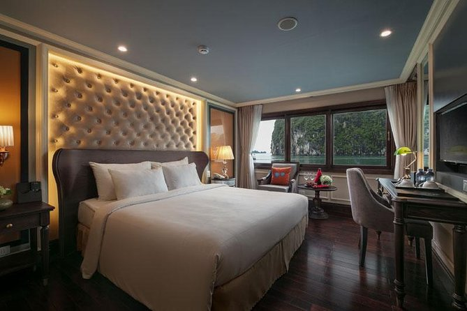 3 days - 2 nights in Bai Tu Long Bay at 5 stars cruise - private balcony cabins