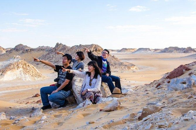 Camping in the White & Black Deserts (Bahariya Oasis) & Cairo Private transfer