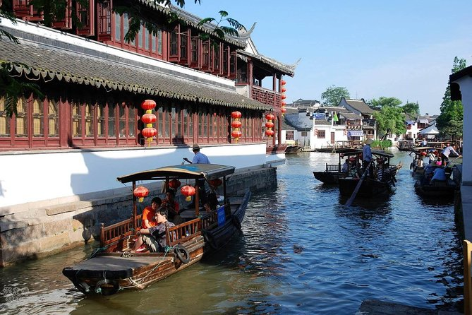 Shanghai Water Town Private Day Tour by Limo