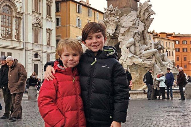 Private Kid-Friendly Rome Highlights Tour by Alessandra w Spanish Steps & Trevi