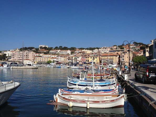 Cassis Small Group Half Day Afternoon Tour from Aix-en-Provence