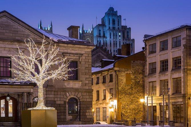 Kerstwandeling in het oude Montreal