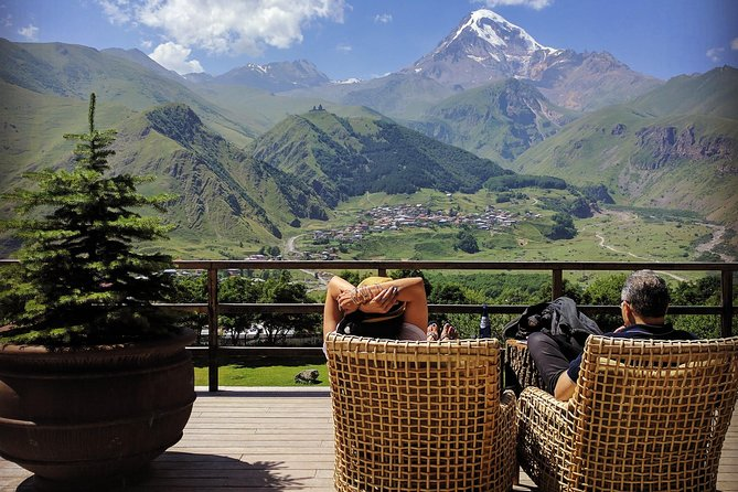 Kazbegi and Gergeti full day trip to the Caucasus with lunch