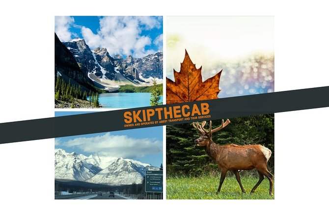 YYC Int'l Airport I Calgary, AB to Waterton National Park --- Private Transfer