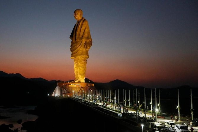 Statue of Unity & Sardar Sarovar Dam One-Day Trip from Ahmedabad