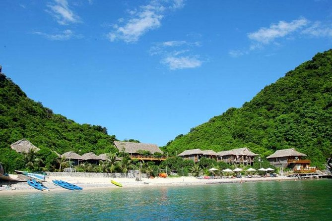 Halong Bay and Lan Ha Bay from Cat Ba Island: Cruise and Kayak Tour