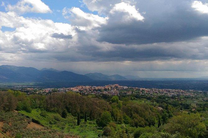 Trekking op de heuvels van Roma