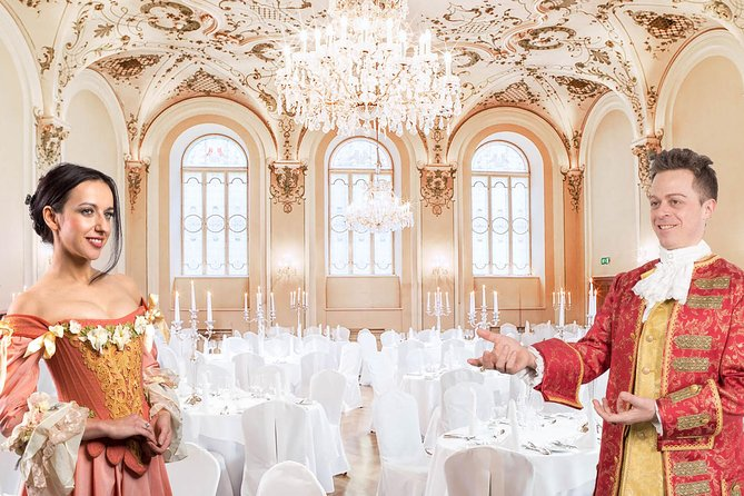 Mozart Dinner Concert at the Baroque Hall of St Peter`s Abbey in Salzburg photo 4