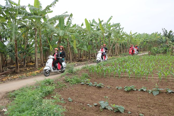 Hanoi Vespa Countryside Tour Half Day With Female Riders