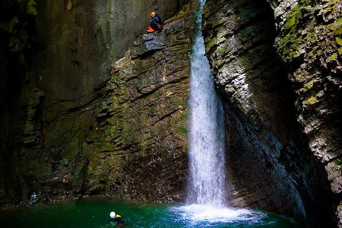 Extreme Canyoning Tour in the Kozjak Canyon - Bovec, Slovenia