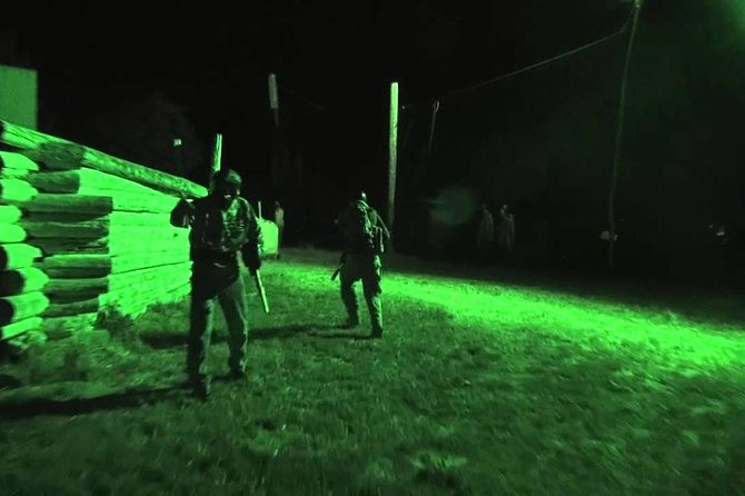 Outdoor Night Paint Ball