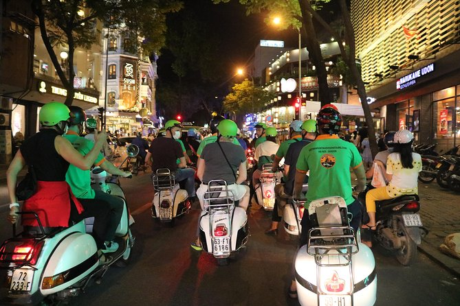 Saigon Vespa By Night Street Food Tour 4,5 Hours