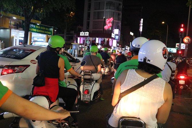 Saigon Vespa By Night Street Food Tour 4,5 Hours
