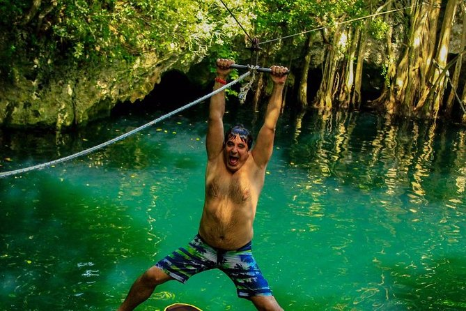Atv's, ziplines and Cenote swim experience, 3 adrenaline activities for 1 price photo 2