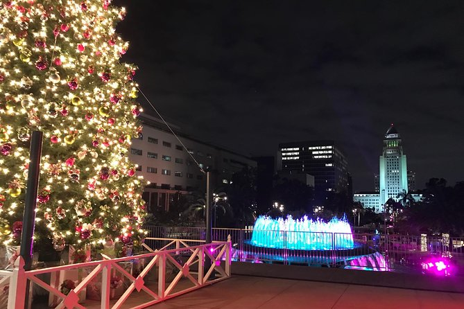 Los Angeles Holiday Lights Tour