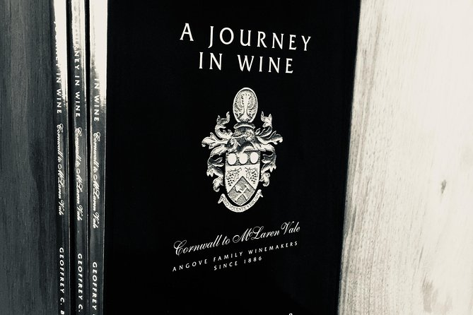 The Journey of wine, great book at Angoves winery in McLaren Vale